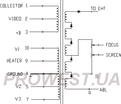 6174V-6002A (HR8123) Строчный